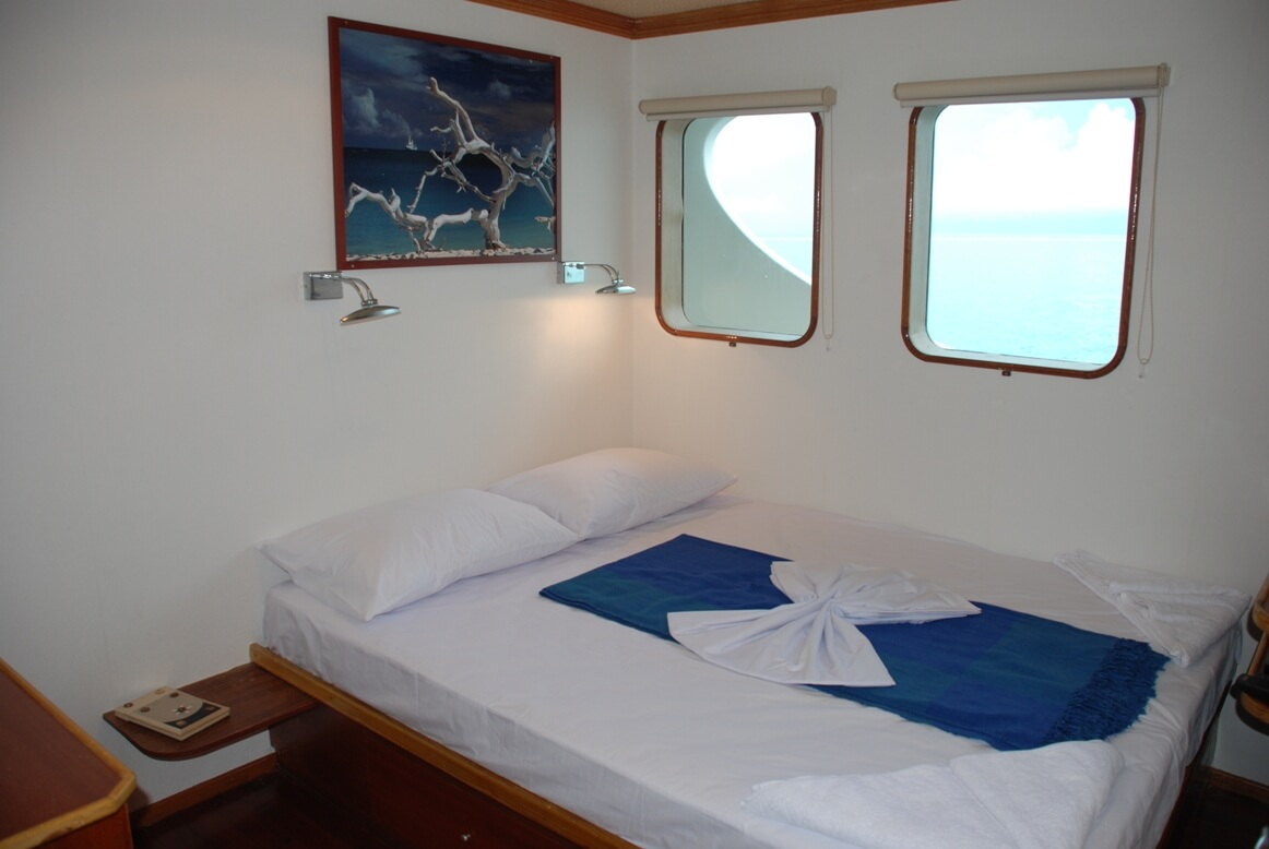 Carpe Diems's high standard sea cabin